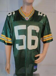 Vintage On Field NFL Green Bay Packer Barnett #56 Football Jersey Adult Large