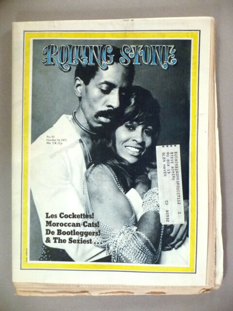 Rolling Stone #93 - October 14, 1971 ~ Ike & Tina Turner ~ nice condition