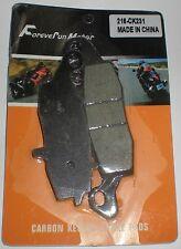 FOREVER RUN MOTOR CARBON KEVLAR BRAKE PADS 216-CK159 POLARIS SCRAMBLER SPORTSMAN