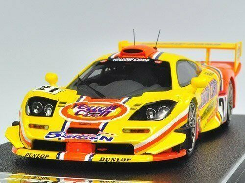 EBBRO   HPI 44672 1 43 Mc Laren F1 GTR 2001 JGTC   21 giallo   arancia
