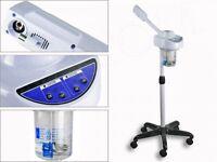 Stand Facial Steamer Aroma Moisture Beauty Mist Ionic Digital Ozone Spa Ce 750 W