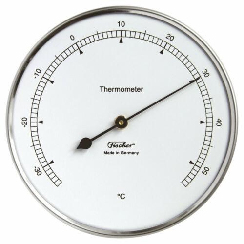 -35 bis +55 °C Thermometer Edelstahl Fischer 117.01 Skalenteilung 1 °C