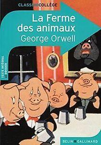 La-Ferme-des-animaux-de-Orwell-George-Livre-etat-bon