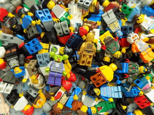 LEGO 1 Minifigure from bulk lot  free shipping on 10 or more