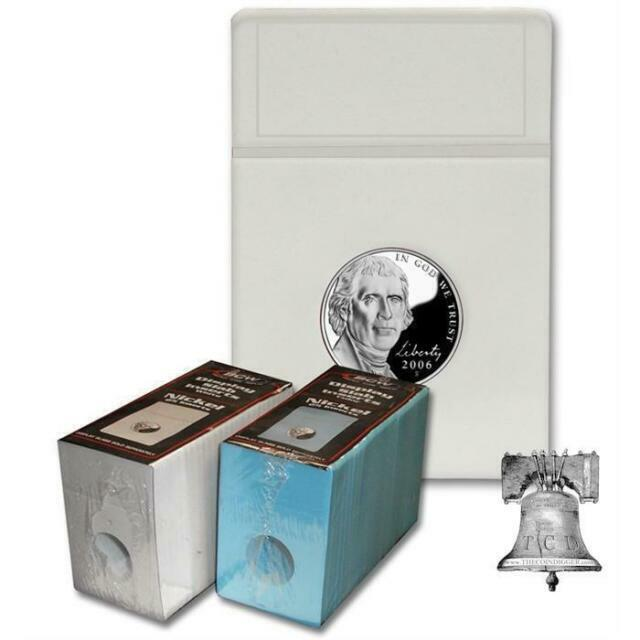 2 Direct Fit Capsule Holder /& Coin Display 40.6mm Storage Box 1oz Silver Taku