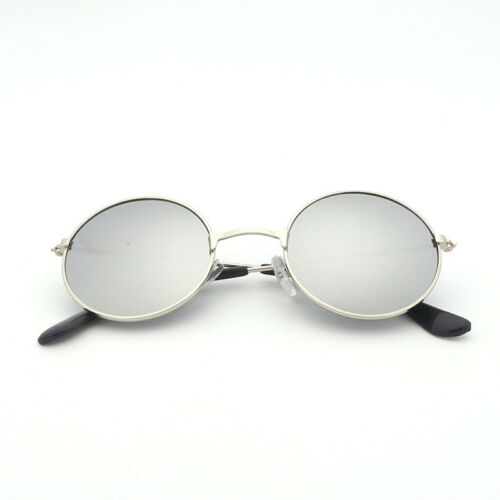 John Lennon Style Sunglasses Round Retro Vintage Shades 60s 70s Hippie Glasses