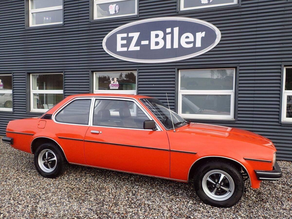 Opel Ascona 1,9 Benzin modelår 1980 – dba.dk – Køb og Salg af Nyt og Brugt