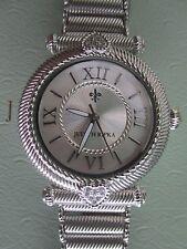 Judith Ripka Stainless Steel Silver Heart Avignon Watch NIB Box/pillow AVERAGE