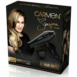 Carmen-by-Samantha-AC-Professional-Hair-Dryer-Frizz-Free-inc-Concentrator-Nozzle