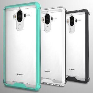 For-Huawei-Mate-9-Case-Hard-Back-Soft-Bumper-Hybrid-Slim-Cover