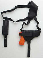 Gun Shoulder Holster With Single Mag Pouch For Ruger P93,p95,p97 With Laser
