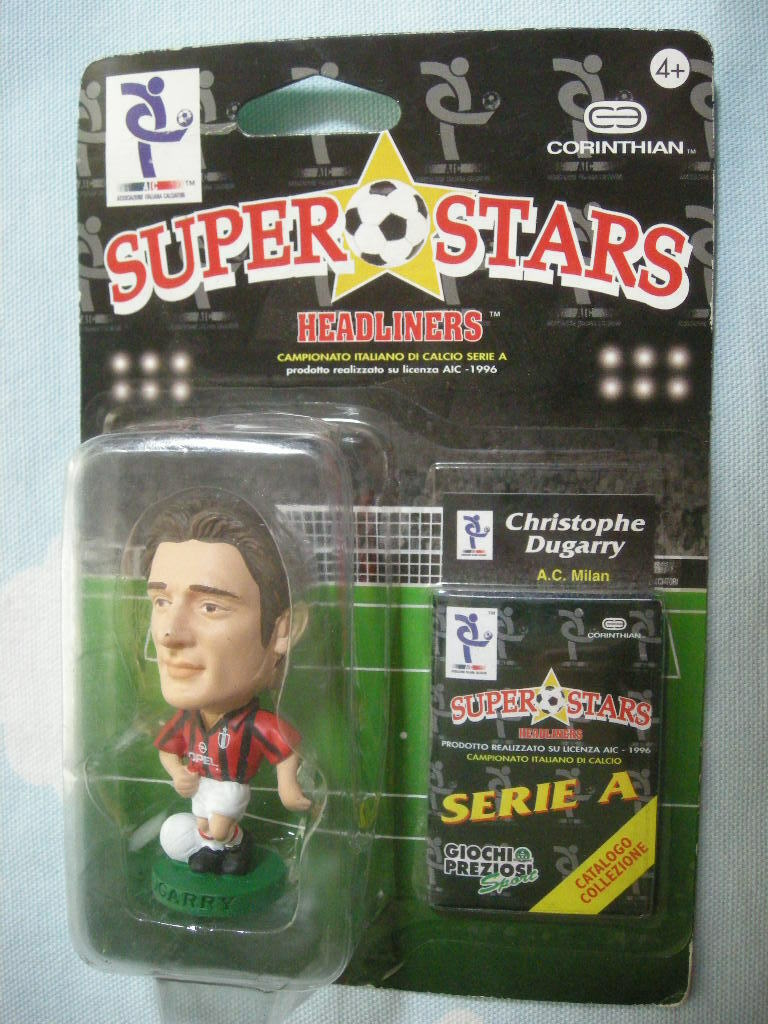 CORINTHIAN ITALY HEADLINERS Christophe Christophe Christophe Dugarry SUPERSTARS a1f248