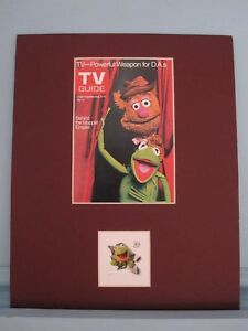 Jim-Henson-039-s-The-Muppet-Show-amp-Kermit-the-Frog-stamp