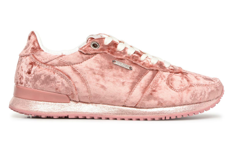 Damen Pepe Jeans Gable Sneaker Velvet Sneaker Gable Rosa 3e0bed