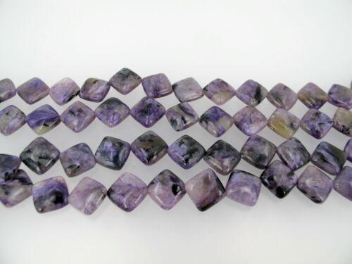 8/'/' long Purple gemstone beads Genuine Charoite diamond beads 12mm