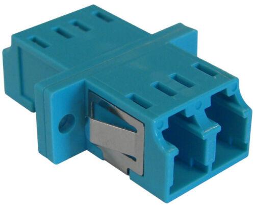 Multimode 10 Gig OM3 Fiber Optic Coupler LC//PC Duplex Adapter 3849