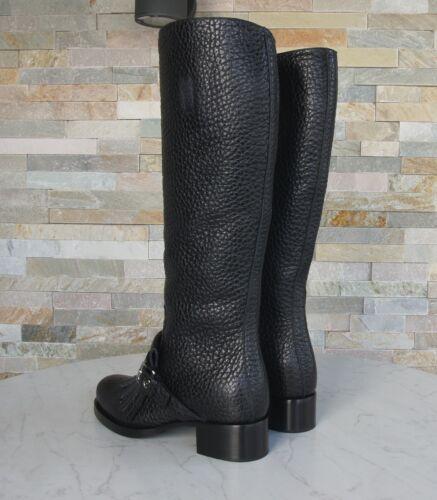 zwart eerder schoenen Prada 5 laarzen Franjes maat 1w061h nieuw 38 vmNw80On