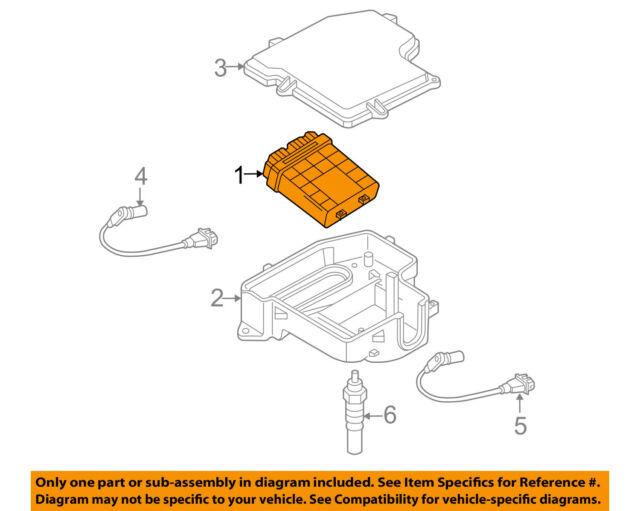 2005 volkswagen passat tdi 2 0 diesel ecu ecm engine computer module