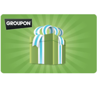 $100 Groupon Gift Card Email Delivery Deals