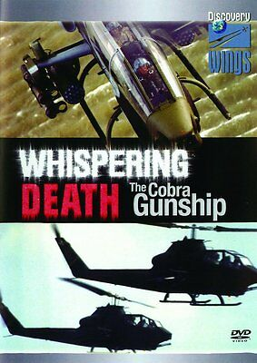 Whispering Death - Bell AH-1 Cobra Gunship New DVD Aviation Aircraft Helicopters