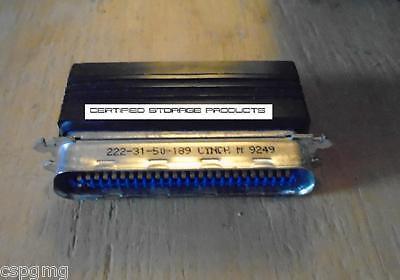 Fully Shielded Premium Active SCSI Terminator Centronics C50 50-pin SCSI2 Mac PC