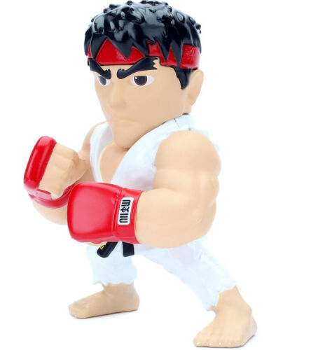 "Jada Toys 4/"" Metals Diecast Street Fighter Action Figure 98061 Ryu M305"