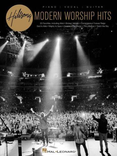 Hillsong Modern Worship Hits Sheet Music Piano Vocal Guitar SongBook 000154952