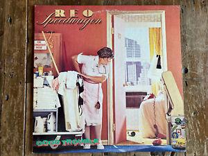 REO-Speedwagon-Good-Trouble-Epic-FE-38100-VG-VG-Vinyl-LP