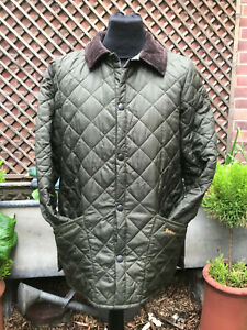 Barbour-Liddesdale-Childrens-XXL-small-adult-quilted-jacket