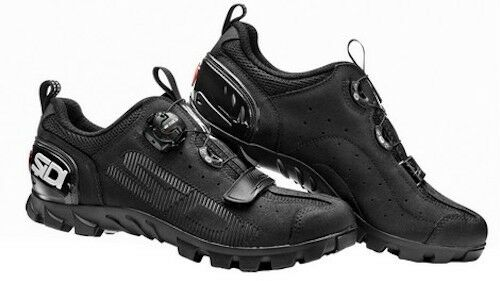 shoes  SIDI MTB SD15 black N. 43  first-class quality