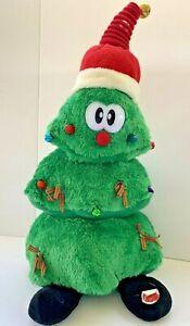 Vintage-Christmas-Tree-Animated-ANIMATRONICS-Light-Up-Musical-Dance-Plush