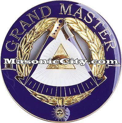 Z-28 Grand Master Masonic Auto Emblem FreeMasonry Car Lodge Mason PHA