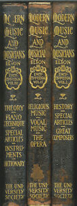 Modern-Music-and-Musicians-Encyclopedia-Vol-1-3-1912-Edited-by-Louis-Elson
