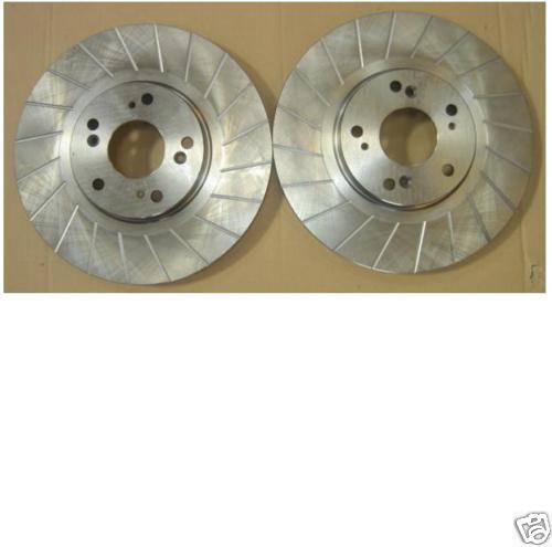 CIVIC Type R Avant Rainure disque de frein /& mintex pads
