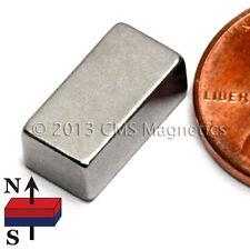 "CMS Magnetics® 500 pieces Neodymium Magnets N42 1/2x1/4x3/16"""
