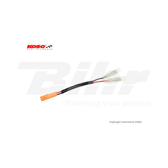 66314: KOSO Cable adaptador plug & play para intermitentes Honda