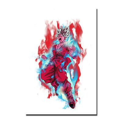 Dragon Ball Z Goku Anime Silk Poster Prints 12x18 24x36 inches
