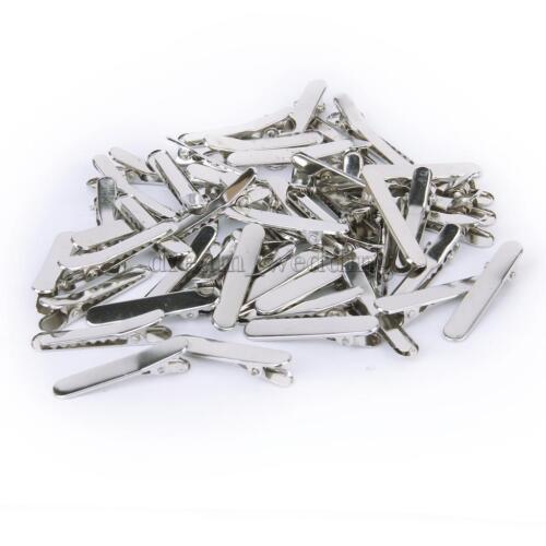 50pcs Metall Haarspangen Haarklammer Haarclip 35mm DIY Ca