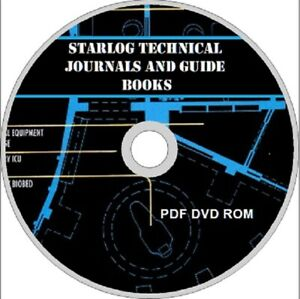 STARLOG-Technical-Journals-amp-Guidebooks-PDF-on-DVD-STAR-TREK-STAR-WARS-SCI-FI