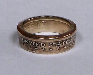 US GOLD DOLLAR sacagawea COIN RING SIZE 7-13 | eBay