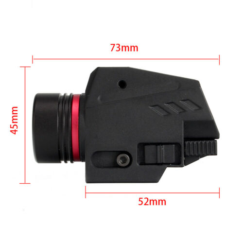 Combo RED//Green Laser Sight LED Flashlight 20mm Picatinny Rail For Rifle