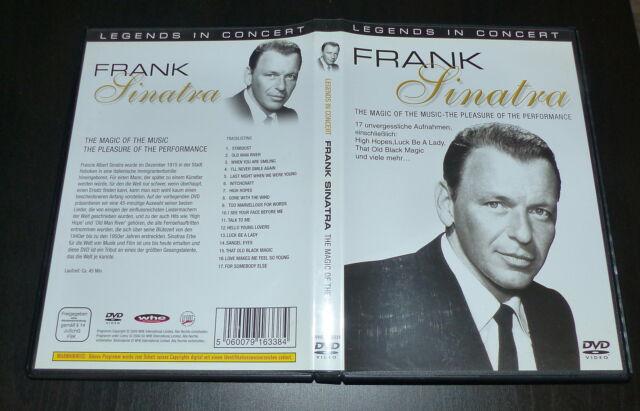 Legends in Concert: Frank Sinatra - Magic of the Music !! Wie Nagelneu !!