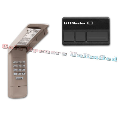 877Max Keypad 1 373LM Remotes /& Liftmaster ACKIT 315Mhz Access Value Pack 1