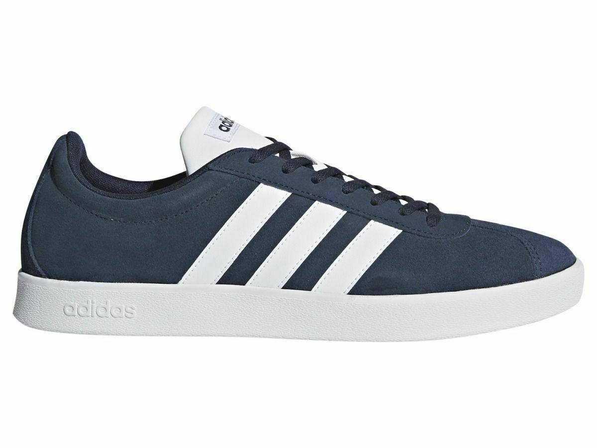 Adidas Vl Court 2.0 Herren Turnschuhe Turnschuhe Sportschuhe DA9854