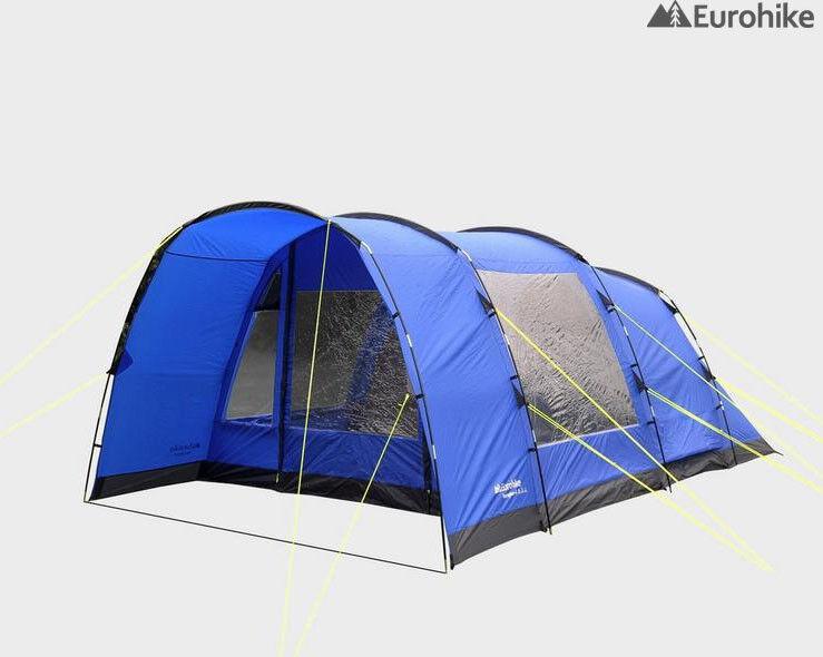 Eurohike Hampton bluee 4 Berth Tent (Including Extras)