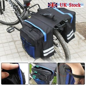 649f64cdba Outdoor Bike Bicycle Cycling Rear Seat Double Panniers Bag Trunk Rack Pack