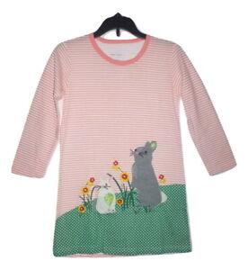 NWT Girls Easter Bunny Rabbit White Blue Sleeveless Dress 2T 3T 4T 5T