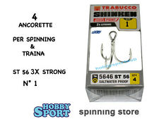 ANCORETTE OWNER TRABUCCO 5646  SERIE ST 56  N  1  3 X STRONG  INOX  CONF 4 PZ