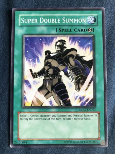 Super Double Summon Yugioh Card Genuine Yu-Gi-Oh Trading Card