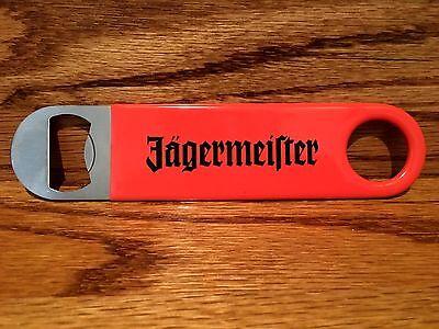 Jagermeister Bartender Bottle Opener..Rubber Coated...Orange...NEW